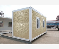 double australia galvanized mobile ready made russia prefab container house