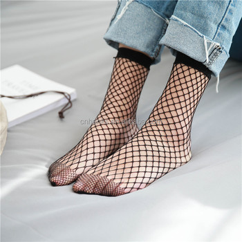 ladies summer socks net socks