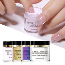 BORN PRETTY 112 Colors Optional Dipping System Powder Nail Art Decoration