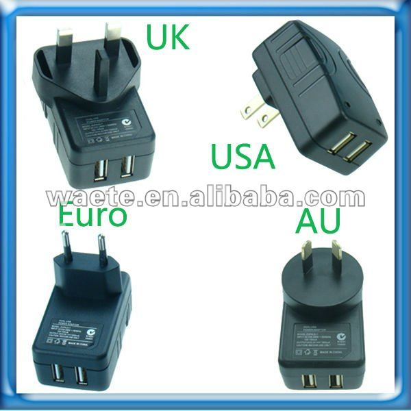 2.1A UK dual usb charger