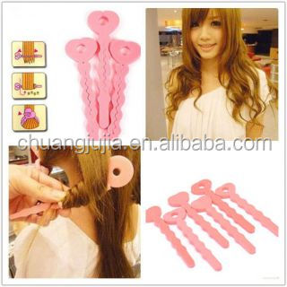 Bendy foam hair perm rollers hot DIY curlers