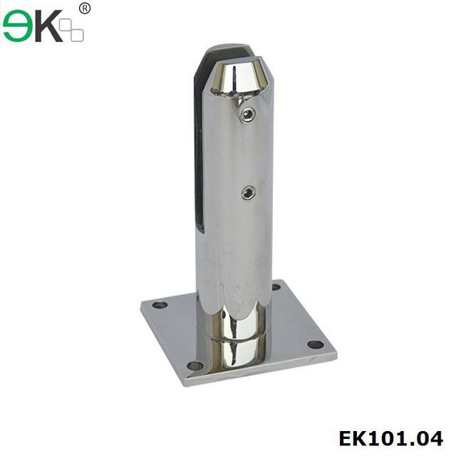 Stainless steel glass spigot clamp, glass clip holder, grip glass spigot for staircase