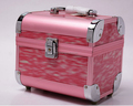 abs pc cosmetic makeup case with mirrior
