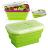 RENJIA food grade silicone collapsible bowl,heat resistant food container,food storage