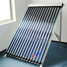 Pressurized vacuum tube solar collector china