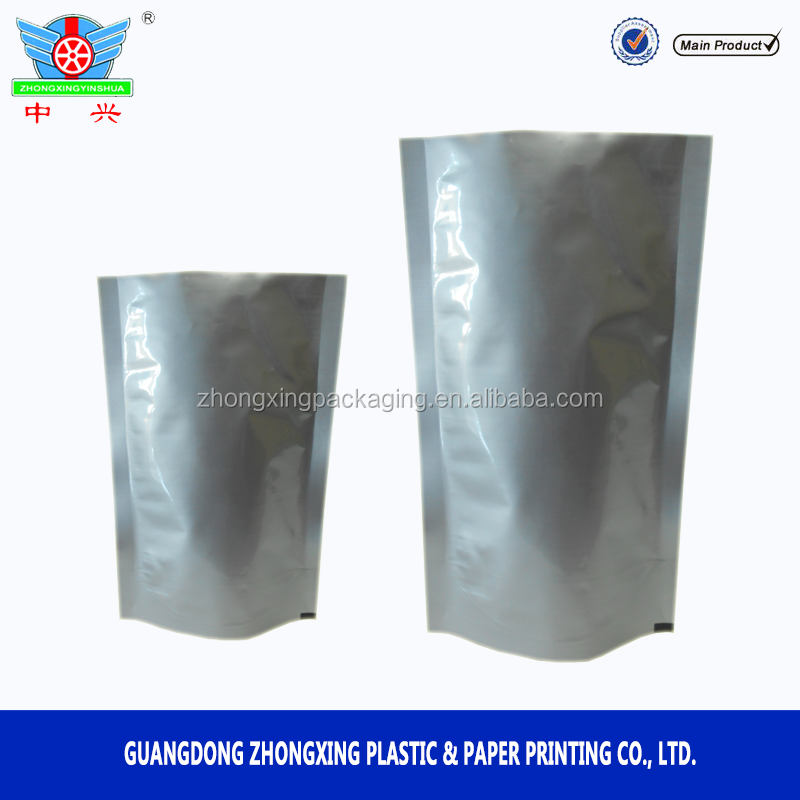 Customized Aluminum foil stand up sealed food pouch