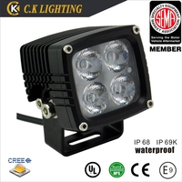 pod light 40w led light bar for offroad with 3d reflector