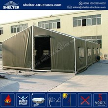Wind Resistance 100km per hour with 0.5km per sqm Used Military Tents army tent for sale