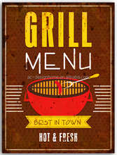 """GRILL"" IRON WALL DECOR"