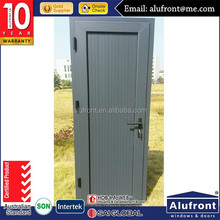 Aluminum frame hinged door bathroom glass door design