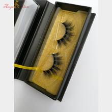 Cruelty free private label faux false eyelashes handmade reusable with clear strip 3d faux mink strip silk eyelashes C31