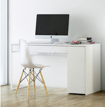 Good quality office desk with drawer/white not foldable desks office /MDF office desk