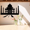 80cm x 92cm Taj Mahal Style Protective Home Decor Removeable PVC Wall Stickers