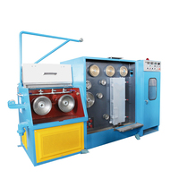14 dies copper fine wire drawing machine with annealing