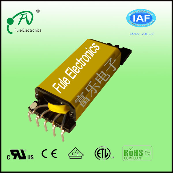 EDR2809 820uH switching transformer used on LED lighting