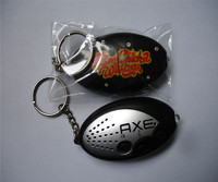 Promotional digital voice recorder keychain