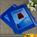 blue color pvc plastic packaging bags for packing Life jackets/swimwear/bikini/swimsuit