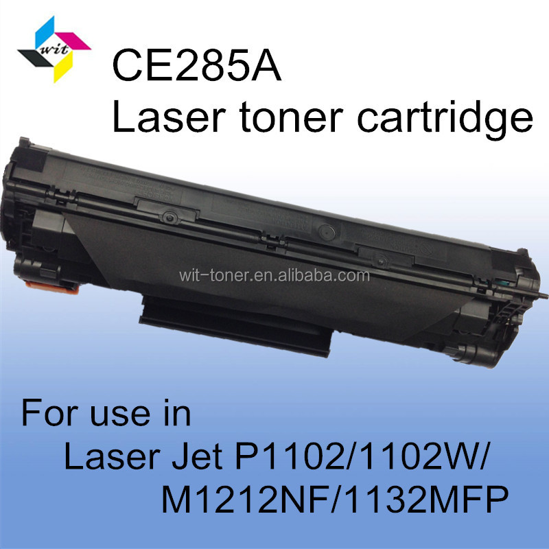 Compatible BLACK Cartridge Toner CE285A 85A For HP LaserJet P1102/1102W/M1132/1212nf/1214nfh/1217nfw LBP6018/6000