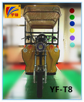 48V 800W electric tricycle/battery rickshaw for 4 passengers