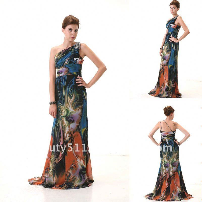 Wholesale print fabric prom dress - Online Buy Best print fabric ...