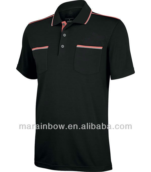 Fashion Performance Solid golf Polo Shirt --Cool Dri-Fit shirts for golf course