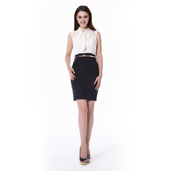 Vestido semi formal de mujer