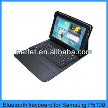 "Bluetooth Keyboard Leather Case For Samsung Galaxy Tab 2 10.1"" P5100"