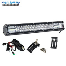Best Selling 20inch 3 Row 180W 12V Offroad Car led driving light Car