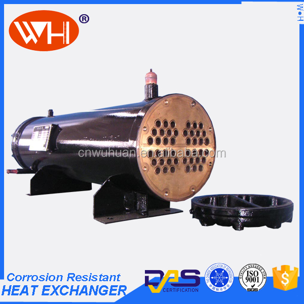 Cooling System water cooled refrigerant condenser, industrial condenser price,shell tube heat exchanger