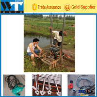 Hot sell Portable water well rig machine for sale
