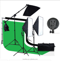 Professional Photo Studio Kit - White Backdrop /Background/SOFTBOX/light stand
