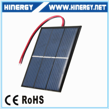 Solar Cell Epoxy Resin Small Pv Panel Solar Module For Electronics