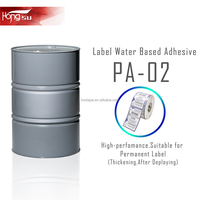 PA-02 55% solid content Acrylic acid Latex Acrylic Adhesive for label paper glue