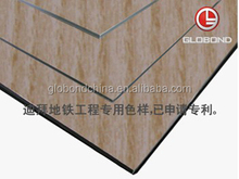 GLOBOND Wooden Aluminum Composite Panel ACP/ Exterior Curtain Wall Cladding System