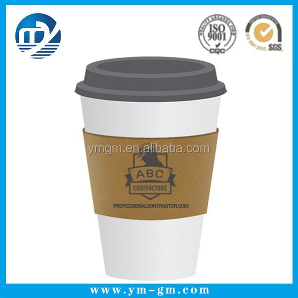 Resuable black coffee sleeve cup sleeve