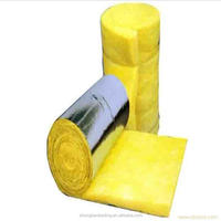 Heat Insulation Fiber Glass Wool Blanket With Aluminium Foil