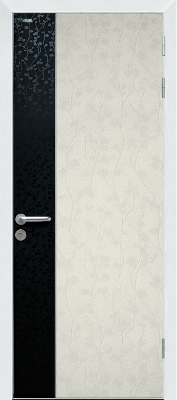 Aluminum Frame Hotel Room Door
