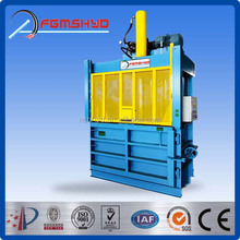 Hydraulic driven type China factory made waste management environmental and recycling PET bottle baler equipment