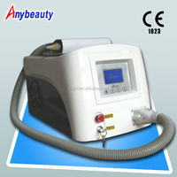 Home use Q-switch nd yag Laser 1064 532nm pigment removal working machine with Medical CE and ISO