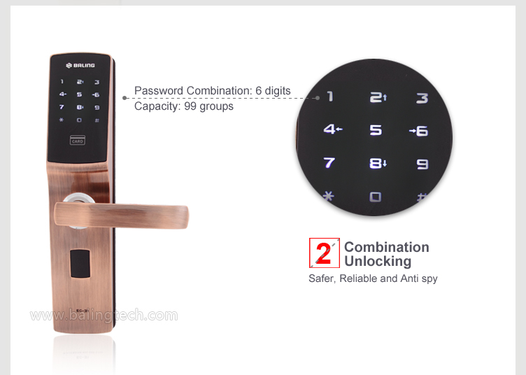 Wholesales Password Card Reader Electronic Smart Digital Intelligent