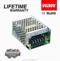 Mini size 5v 3a 15w MS-15-5 ac to dc 110V/220V LED Power Supply with CE ROHS approved
