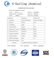 99% Isopropanol / IPA / Isopropyl alcohol with best price