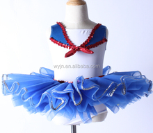 2015-designer short dress styles In-Stock Items Supply Type - sailor blue tutu dress