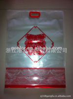 2013 new product customtic three side seal package bag for Chinese New Year food