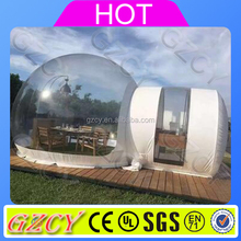 High Quality Big Clear Inflatable Dome Tent, Inflatable Transparent Tent