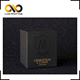 Black craft high quality gold stamped watch gift paper boxes