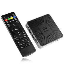 Factory Price C8 Player Rockchip RK3328 Android 7.1 TV Box 4K RAM 1GB ROM 8GB