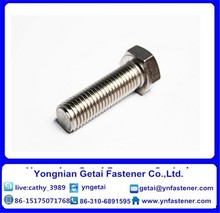 Grade 8.8 Hot dip galvanized coating hex bolt and nut and M12 hex bolts