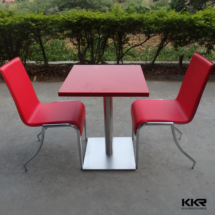 Kingkonree solid surface table, cheap kitchen tables and chairs