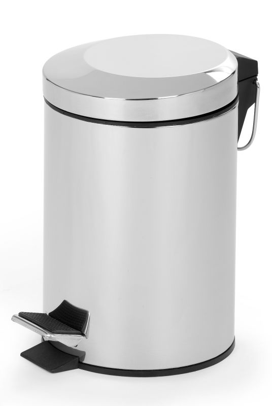2013 Dailyart Household Essentials elegant design stainless steel polish/matt/color coded recycled foot pedal waste bin